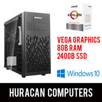 NEW AMD Athlon Gaming PC | Vega Graphics | 8GB DDR4 | 240GB SSD | Win10 Desktop