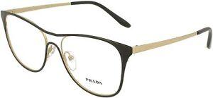 Brand New 2021 Prada Authentic Women Eyeglasses Frame PR 59XV AAV-1O1 Italy Rx S