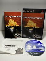 SpyHunter (Sony PlayStation 2, 2004) - Pal Ps2 Game With Manual
