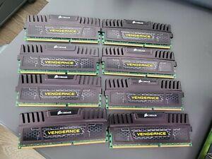 Corsair 32 GB Quad Channel (8x4GB) DIMM 1600 MHz DDR3 RAM