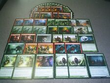 MTG Magic WEREWOLF DECK Red and Green 2 sided cards Human lot Custom Themed ISD