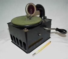 RARE VINTAGE BABY TABLE TOP PHONOGRAPH GRAMOPHONE 78 RPM SMALL RECORD PLAYER