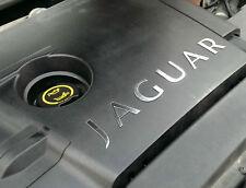 Jaguar X-Type Diesel Chrome Engine Bay Lettering 2.0, 2.2 Diesel All Models