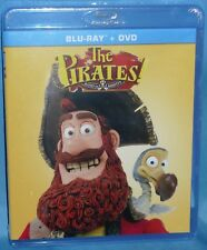 Blu-ray : + DVD ~ The Pirates Band of Misfits ( 2015, 2-Disc Set) Brand New