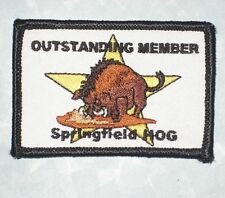 Outstanding Member Springfield HOG Patch - Harley Owners Group
