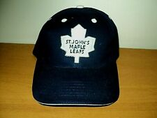 0da958d6fdcba3 Vintage ST. JOHN'S MAPLE LEAFS AHL Defunct Hockey Team 90s NEW Embroidered  Cap