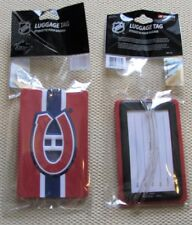 Montreal Canadiens - NHL Hockey 3d Rubberized Luggage Bag Tag