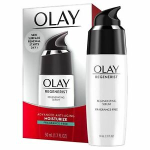 Olay Regenerist Regenerating Serum, Fragrance-Free Light Gel Face Moisturizer 1.
