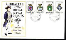 Gibraltar FDC Michelnummer 521 - 524 (intern:Doku: 391)