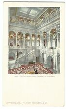 Central Stair Hall, Library Of Congress, Vignette PPC Unposted, Undivided Back