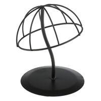 Black Wig Hair Iron Display Stand Mannequin Head Hat Hair  For Shop