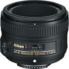 Nikon AF-S NIKKOR 50mm f/1.8G Lens for Nikon DSLR Cameras NEW!