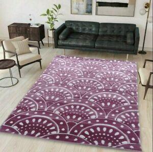 Blush Pink Rug | Modern Coastal Living Room Rugs | Classic Floral Rug | Area Rug