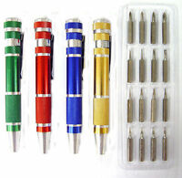 4 Precision Screwdriver Sets With Multi-Tips Jewelers Watch Repair Tool Glasses