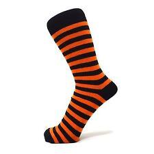 Thin Striped Black Ankle Socks (Size: 6-11)