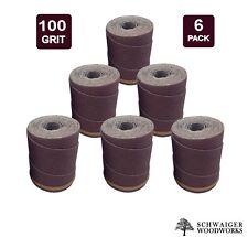 Drum Sander Sanding Wraps/Rolls, 100g for JET/Performax 16-32 &Ryobi WBS1600, 6