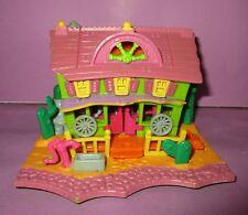 Vintage Polly Pocket Bluebird Mini Doll 1994 Horse House Saloon Compact House