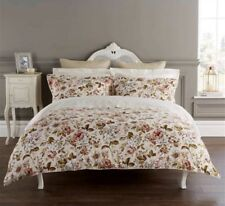 Clearance Double Bed Avalon Duvet Cover Set in Champagne 100 Cotton Percale