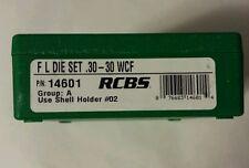 RCBS FL 2 die set for 30-30 Winchester, WCF, #14601, NIB