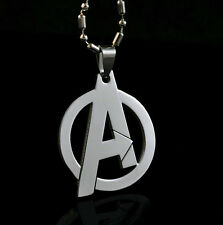 Marvel The Avengers Super Hero Steel Chain Pendant Fashion Necklace Xmas LZ21