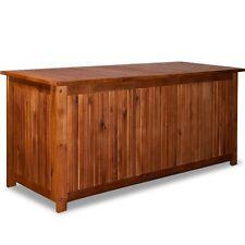 Cassapanca baule box in legno per esterno giardino  L 120 x 58 x 50 cm