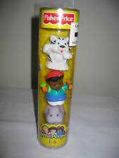 Fisher Price Little People White Tiger Michael Hippo tube new zoo ark rare part