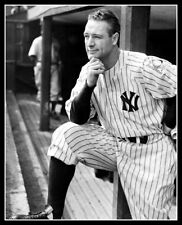 Lou Gehrig #17 Photo 8X10 - 1939 New York Yankees -  Buy Any 2 Get 1 FREE