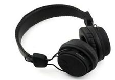 Bluetooth Stereo Headphones for Iphone 5 6 plus + Samsung Galaxy NEW BLACK