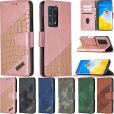 For Huawei P40 P30 Lite Honor 9X Lite Y6S Wallet Card Holder Leather Case Cover