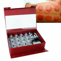 Vacuum Jar Cupping Set Massager Therapy Cupping Massage Suction Cups Tools 19Pcs