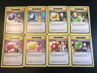 Kanto 8 Gym Badge Pokemon League HOLO BLACK STAR PROMO XY203-XY210 COMPLETE SET