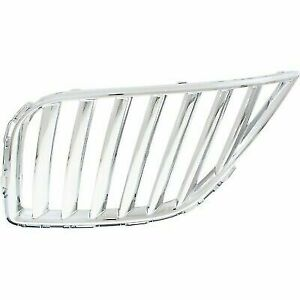 Left Driver LH Front Grille Chrome fits 2011 2012 2013 2014 2015 Lincoln MKX