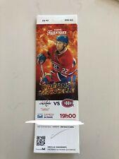 unused hockey tickets Montreal Canadiens 2017 season Karl Alzner