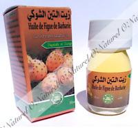 Huile de Figue de Barbarie 100% Pure & Naturelle 30ml Prickly Pear Oil