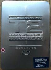 TERMINATOR 2 JUDGMENT DAY ULTIMATE DVD EDITION 2-disc set Tin Metal slip case