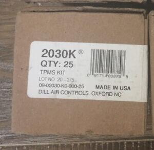 Dill 2030K TPMS Valve Stem Service Kit for Dodge, Chrysler w/Schrader Sensor Q25