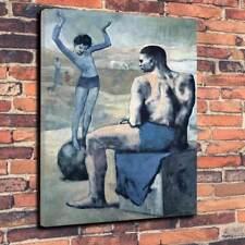 """Picasso-Chica en una bola caja impresa cuadro lienzo A1.30""""x20 """"profundo marco 30 mm"""