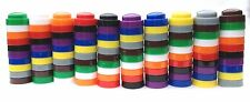 100 Maths Counters - Stacking - 10 colours and 10 of each colour. Maths Games.