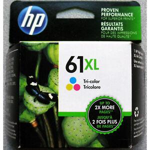 Genuine HP 61XL Tricolor Ink Cartridge List $43.99 SALE $36.99  Exp March 2023