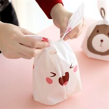 20Pcs Rabbit Cookie Plastic Candy Biscuit Packaging Bag Wedding Gift Brand Hot