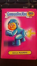 Garbage Pail Kids 2015 Series 2 30th 16a Mega Manny PINK '80s Spoof NM-Mint