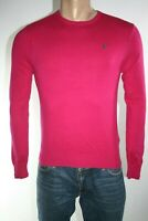 GUESS MAGLIONE UOMO TG. XS MAN SWEATER CASUAL VINTAGE L298