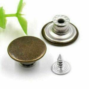 NO-SEW 20mm Look Inside Fine Snap Stud Rivet Button For Jeans/Denim-shirts/Pants