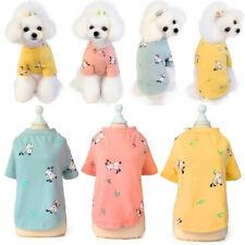 Spring Summer Cartoon Pet Puppy Small Dog Cat Pet Clothes Vest T Shirt Apparel