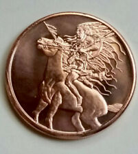 1 Oz Copper Round Chief Indian .999
