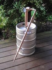 """Beer Keg Kit 2"""" inch Copper Pipe Moonshine Pot Still Column"""