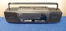 vintage hard to find working boombox Sony model CFD-66 CD player cassette rare