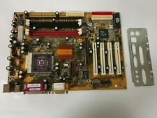 - VINTAGE AMPTRON MOTHERBOARD PSN 26551 ALI M1535D+ WITH AMD CPU