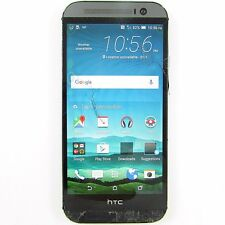"""HTC One M8 5"""" - 32GB - Gunmetal Gray (WIND) Android  Smartphone - 3SNR"""