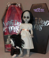 LDD living dead dolls series 8 * THE LOST VARIANT * white dress black doll